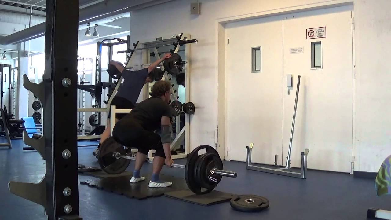 28 06 2015 Deadlift 3 x 105 1 - YouTube