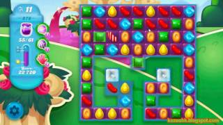 Candy Crush Soda Saga - Level 878 (3 stars, No boosters)