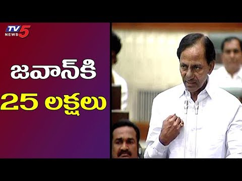 CM KCR on Martyred Jawans in Pulwama Tragedy | TV5 News