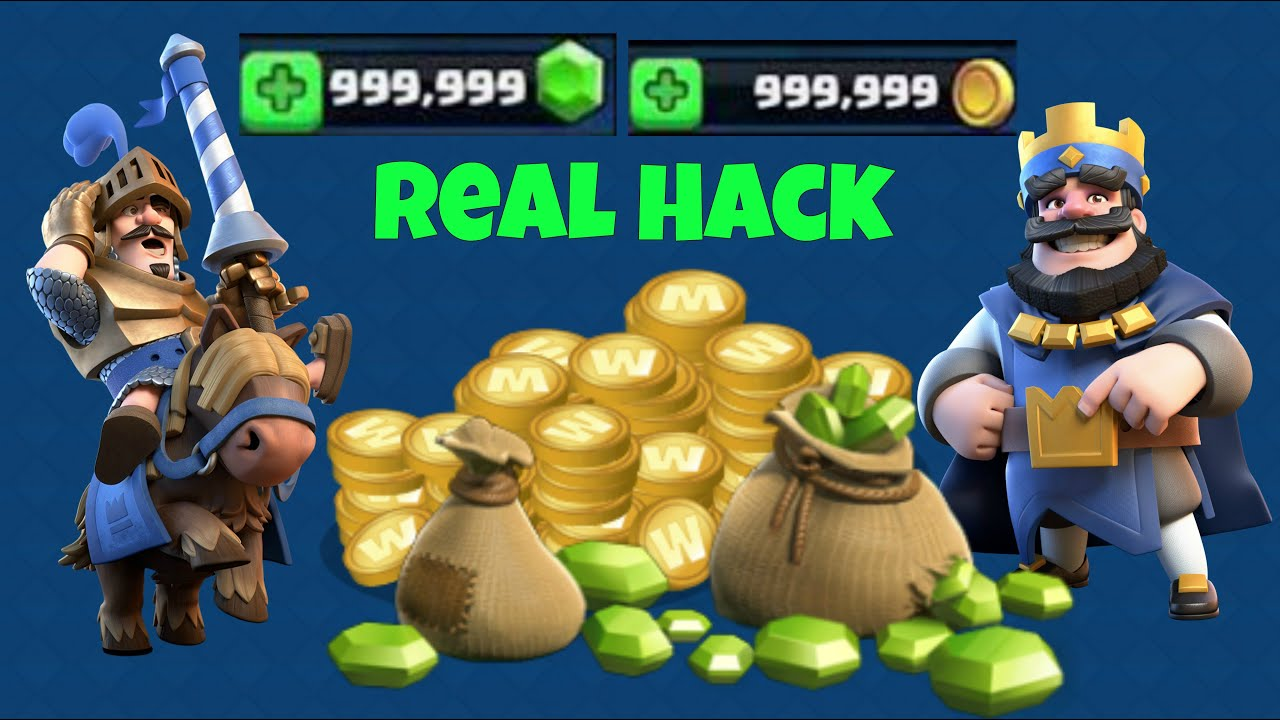 Clash Royale Real Hack !!! | 9999999 Gems |9999999 Gold |2016 -