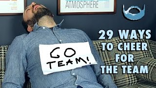 29 Ways to Cheer for the Team | Wheezy Ways #8