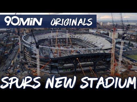 Stunning new footage of Spurs new stadium! 90Min Originals