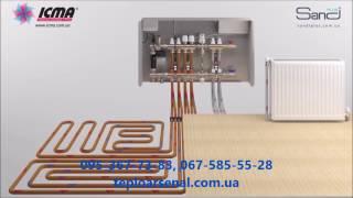 Теплоарсенал монтаж коллекторов теплого пола и радиаторного отопления Icma(, 2017-04-24T17:35:39.000Z)