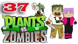 ч.37 Растения против Зомби с кошкой - Размаж зомби и Последний живой
