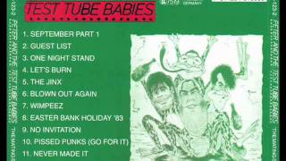 Watch Peter  The Test Tube Babies Guest List video