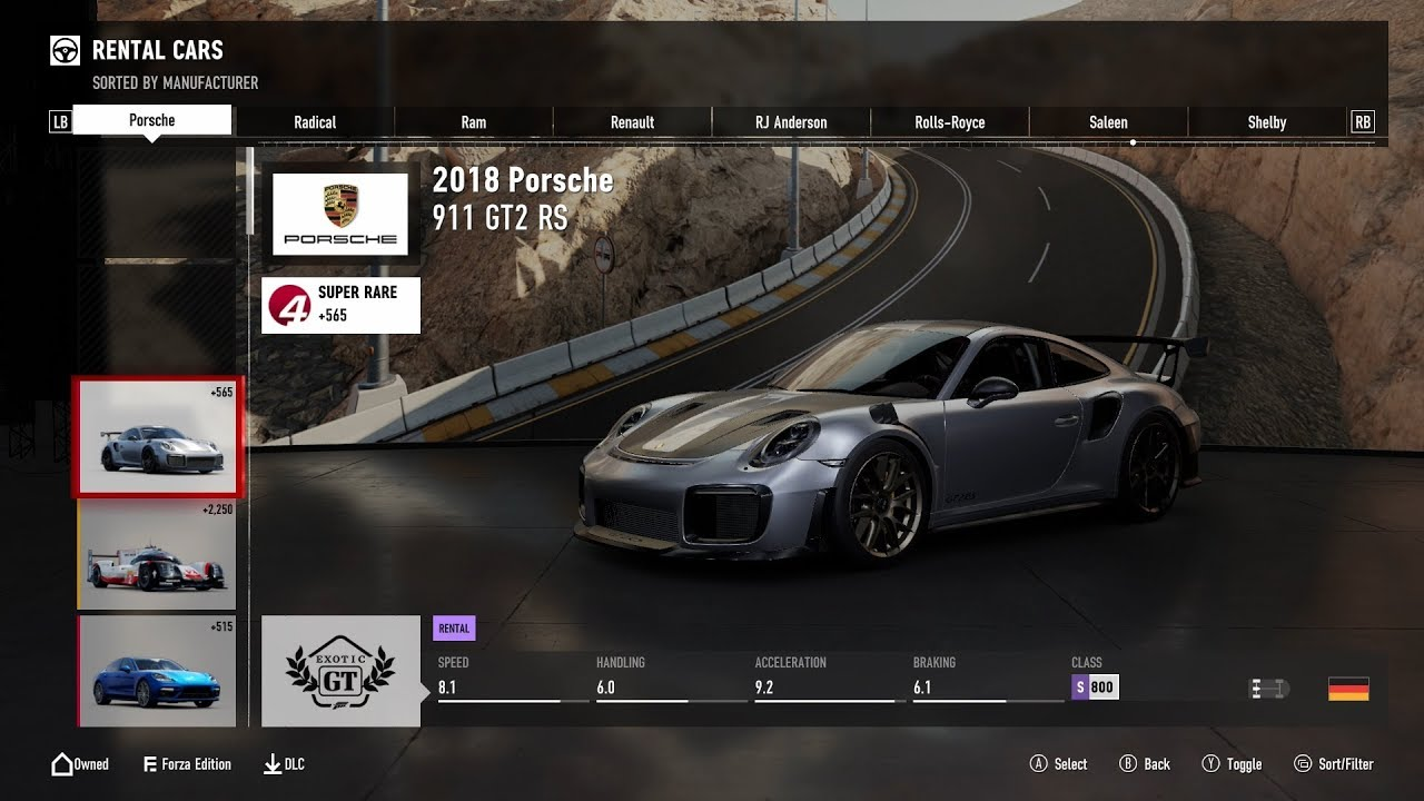 forza motorsport 7 full car list launch dlc forza. Black Bedroom Furniture Sets. Home Design Ideas