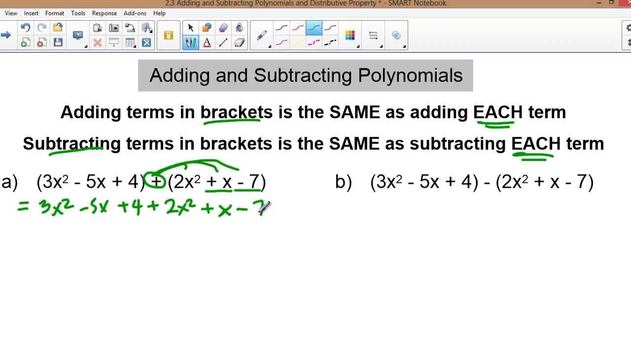 All Grade Worksheets Adding And Subtracting Polynomials – Polynomials Worksheet