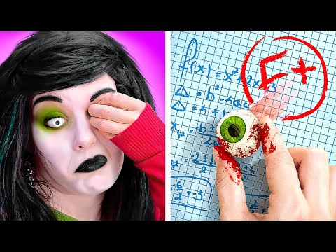 ZOMBIE AT SCHOOL! || What If Your BFF Is A ZOMBIE || Funny DIY ZOMBIE Hacks and Pranks