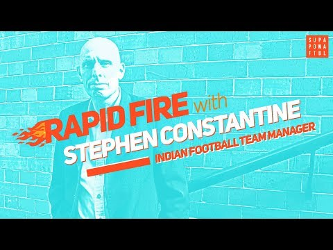"""Jhingan = NEXT CAPTAIN!""   Rapid Fire w/ Stephen Constantine"