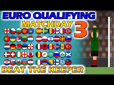 Beat The Keeper - UEFA Euro 2020 Qualifying Matchday 3