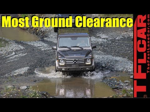 Top 25 Crossovers and SUVs with the Most Ground Clearance Counted Down
