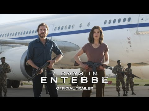 7 DAYS IN ENTEBBE - Official Trailer [HD] - In Theaters March 2018