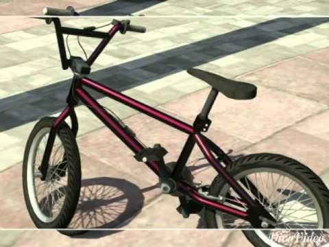 Gta 5 Online Rare Modded Bmx Bike Collection Youtube