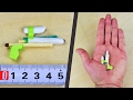 How to make a mini Pistol from matches - Mini Matchstick Gun