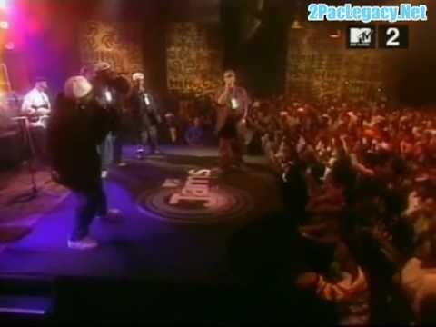 2Pac Perform I Get Around & Keep Ya Head Up Live At MTV Jams 1993 (2PacLegacy.Net)