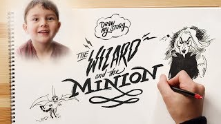The Wizard & The Minion (Ernie) | Draw My Story | HiHo Kids