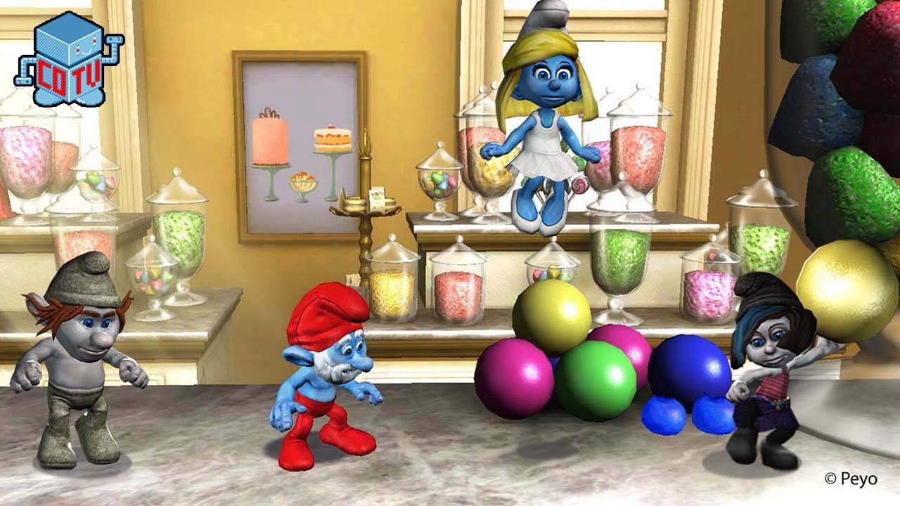 The Smurfs 2 Video Game Official Launch Trailer - YouTube