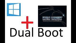 How to boot Kali Linux 2018.4 alongside Windows 10 on any pc ||Dual Boot ||