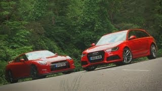 Nissan GT-R vs Audi RS6 Avant shootout - autocar.co.uk