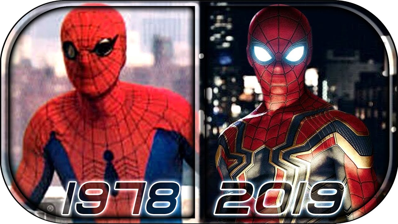 IContrast Between 1991 and 2018 Spider-Man