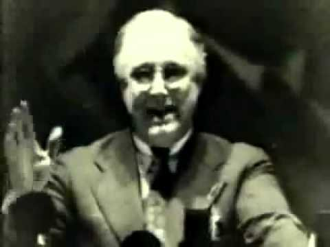 """FDR: """"Let Me Warn You"""" (1936) [History Repeats Itself]"""