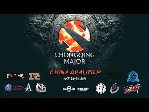 [DOTA 2 LIVE PH]  The Chongqing Major China Qualifier