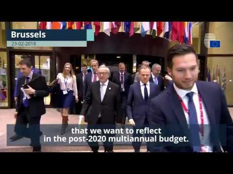 Donald Tusk wraps up European Council Informal Meeting - Highlights