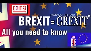 Will BREXIT cause a collapse of the Euro & the Global Economy?