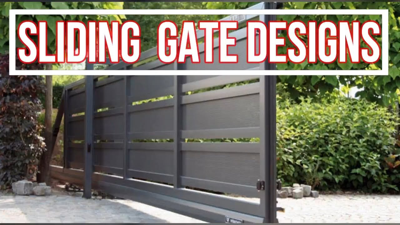 Top 25 amazing sliding main gate designs for your home - Sliding main gate design for home ...