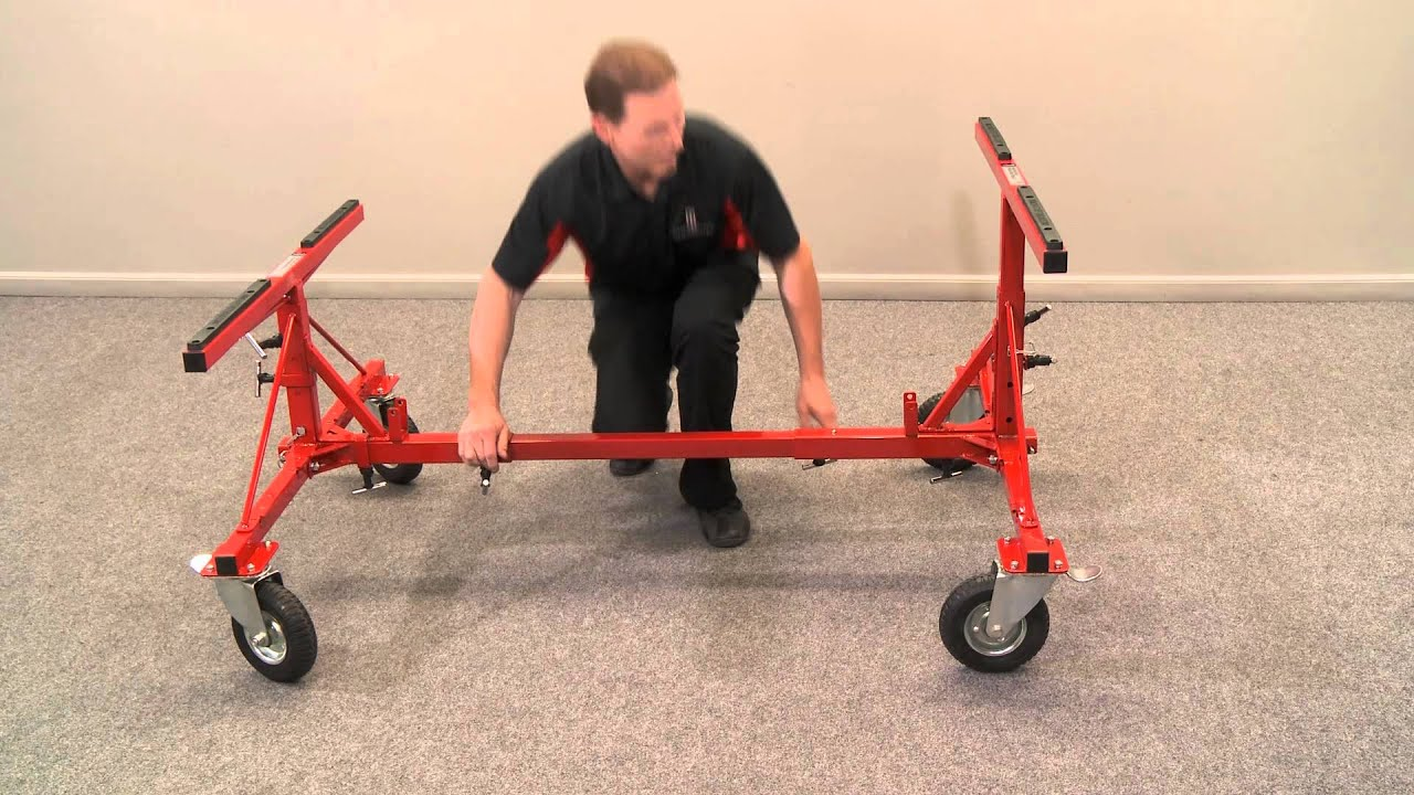 Truck Bed Dolly Youtube