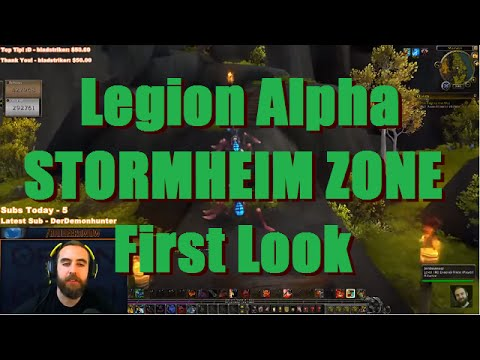 Bajheera - LEGION: Stormheim Adventures w/ Jenny (Ep. 1) - WoW Legion Fury Warrior Gameplay