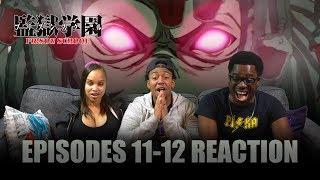 The Medusa | Prison School Ep 11-12 Reaction