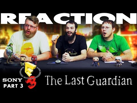 The Last Guardian Trailer REACTION!! Sony E3 2016 Conference 3/12