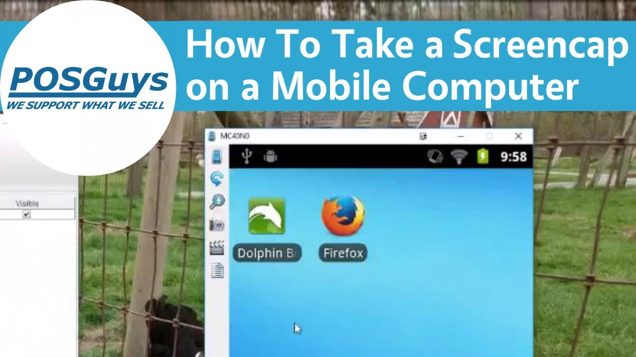 Ask POSGuys: Take Screencaps on Zebra Android Mobile Computer (MC40)