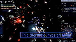 Trio Starblast Invasion Mode