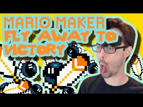Mario Maker - The Flying Clutchman & Now Yoshi Me, Now You Don't (Sweet Cape and Yoshi Tricks)