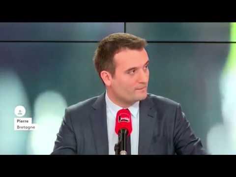 Phillipot interpellé à la SUITE par 2 sympathisants UPR sur France Inter !!!