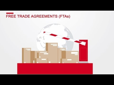 Free Trade Agreements - what is their meaning for exporting SMEs?