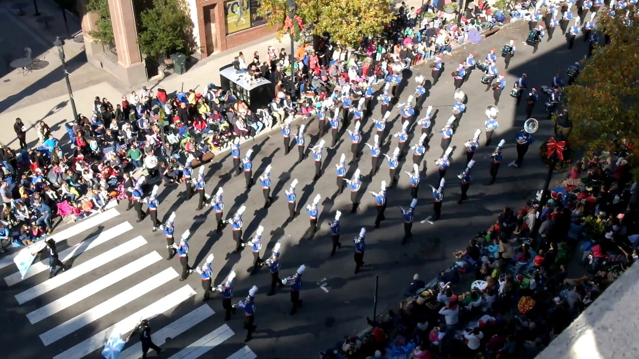 Athens Drive HS Marching Band in Raleigh Christmas Parade 2016 ...