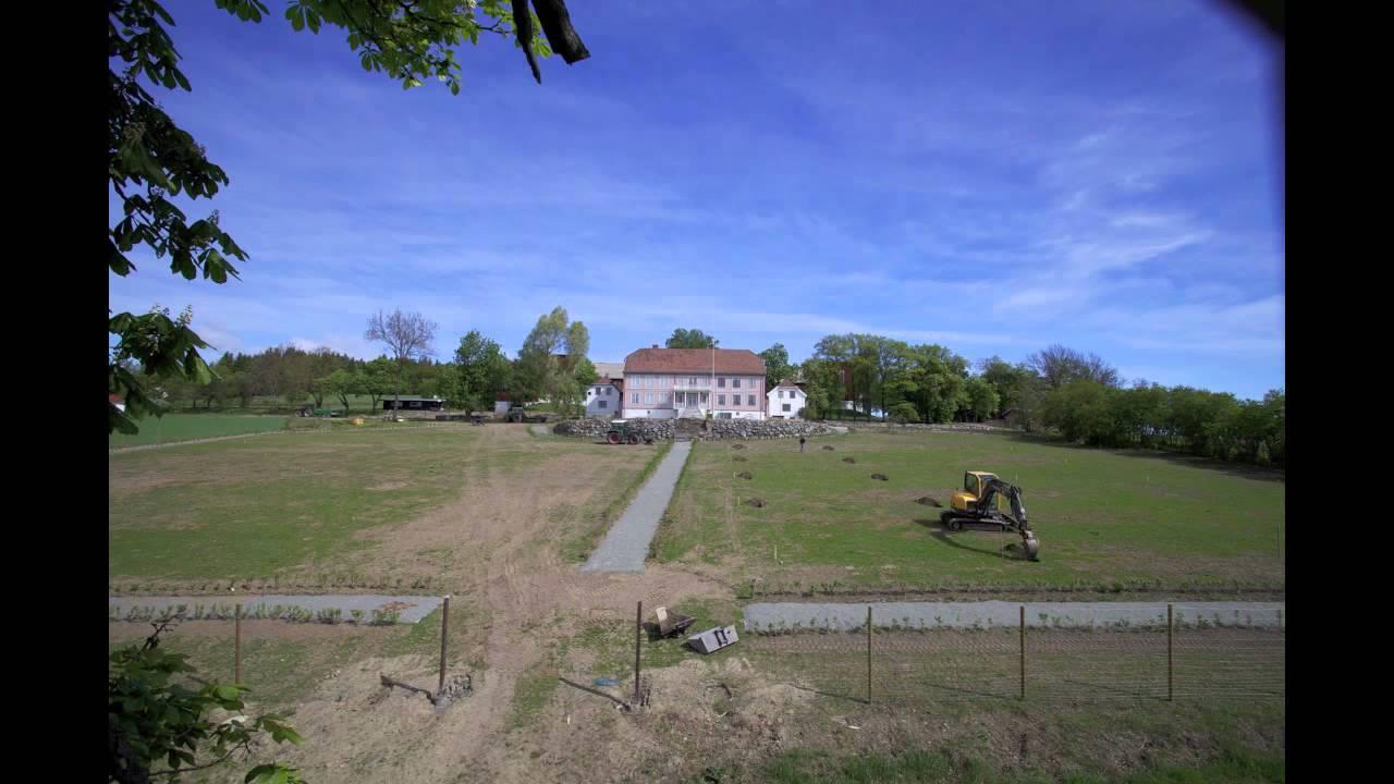 The garden of Hovelsrud farm
