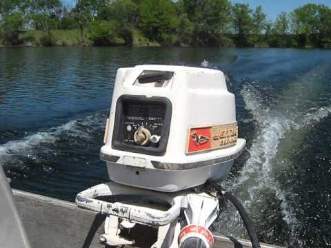1960 Johnson 55hp Outboard Motor Youtube