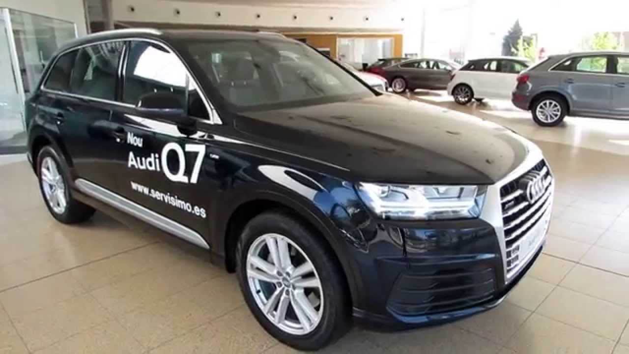 audi q7 3 0tdi 272cv quattro tiptronic sport sline youtube. Black Bedroom Furniture Sets. Home Design Ideas