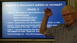 Controller responsibilities Document
