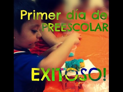 Tips para tener un primer d a de preescolar exitoso for Actividades para el primer dia de clases en el jardin