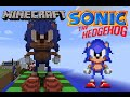 3D Sonic Sprite from Sonic the Hedgehog (GEN) on Minecraft (PC)