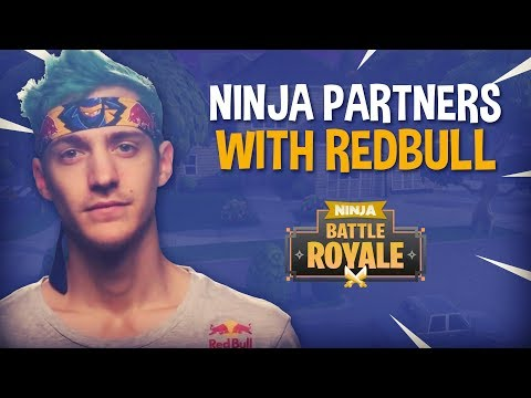 Ninja Partners With Redbull!! - Fortnite Battle Royale Gameplay - Ninja