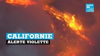 Californie, alerte violette