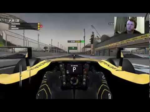F1 2016 Career Mode Part 2 - Bahrain