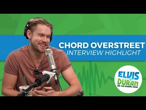 Chord Overstreet's Hilarious Impressions   Elvis Duran Interview Highlight