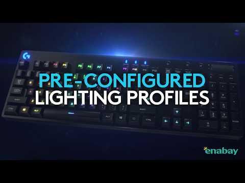 羅技 Logitech ORION SPECTRUM RGB 機械遊戲鍵盤 抗指紋表面 黑色 G810